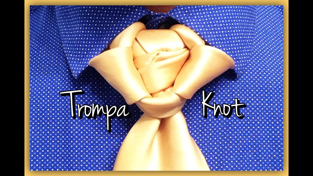 The trompa knot how to tie a tie youtube ccuart Choice Image