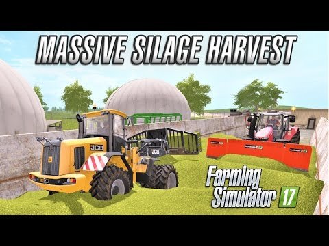 Multiplayer Farming Simulator 17 | SILAGE HARVEST | Giants Island EP5