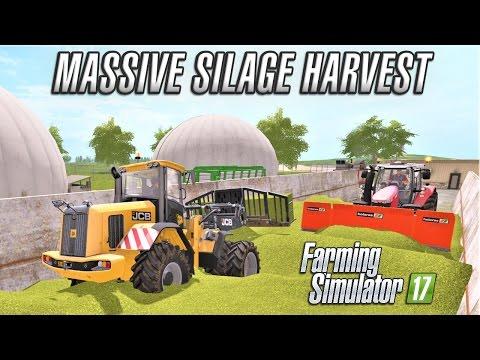 Multiplayer Farming Simulator 17 | SILAGE HARVEST | Giants Island EP5