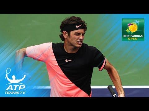 Federer, Fritz, Chung through reach last 16   Indian Wells 2018 Highlights Day 5