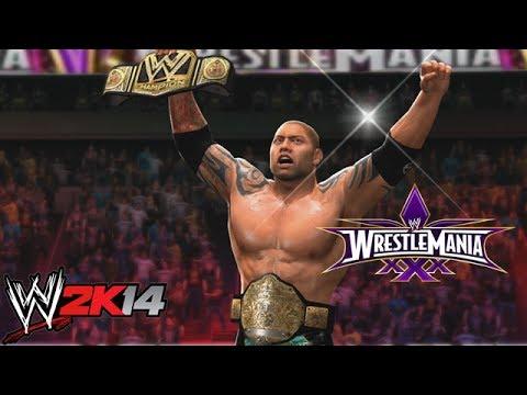 Wwe 2k14 Batista Wwe Batista World Heav...