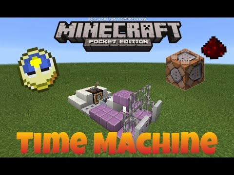 How to make a Working Time Machine in Minecraft PE