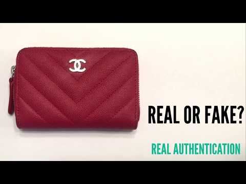 CHANEL CARD HOLDER  REAL OR FAKE  78ccecb692916