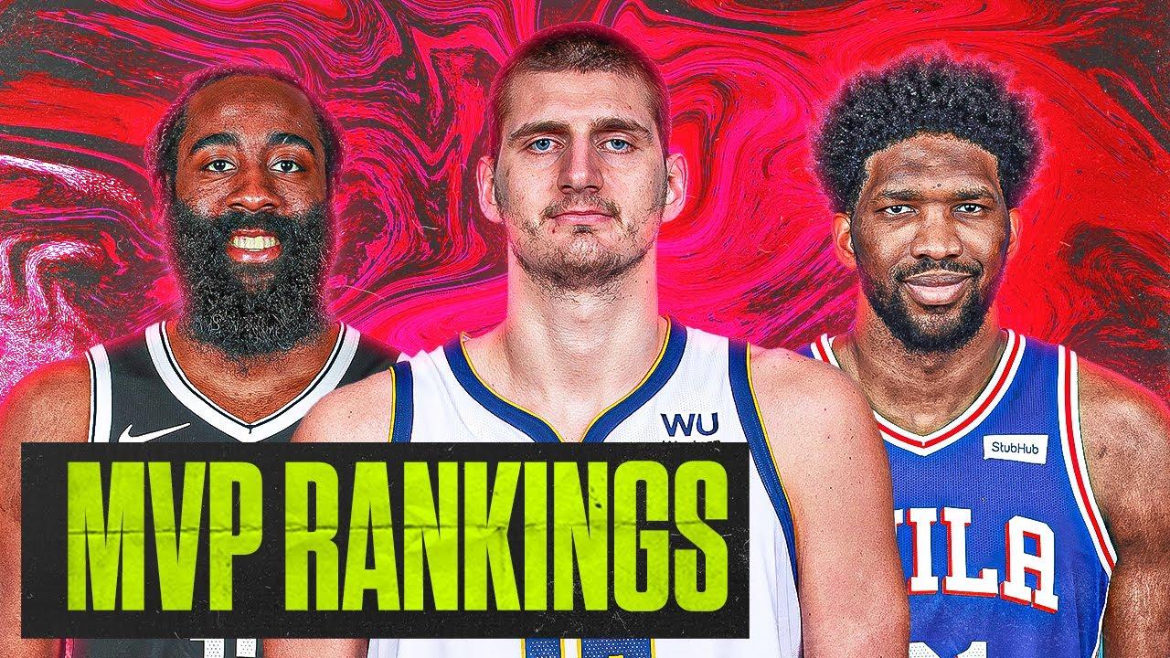 2021 NBA MVP Rankings [Top-5 SO FAR]