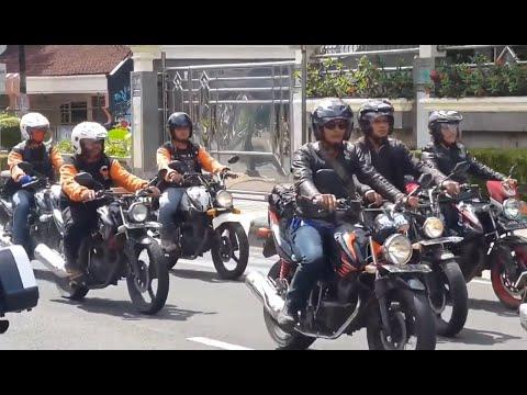 Touring Jamnas Jambore Nasional XII Honda Tiger Club Indonesia HTCI di Sukabumi