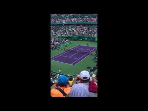 Miami Open 2017   Federer vs. Tiafoe   Part I