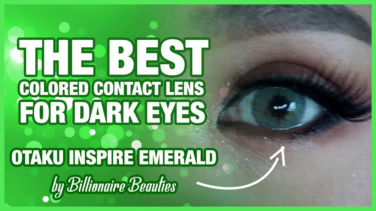 Review Otaku Inspire Emerald Best Colored Contact Lens