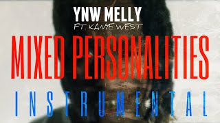 YNW Melly FT. Kanye West - Mixed Personalities [INSTRUMENTAL] | ReProd. by IZM