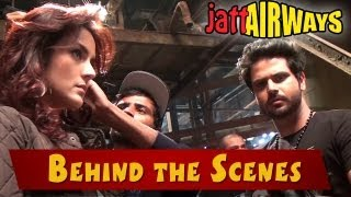 Jatt Airways - Behind The Scenes - Alfaaz,Tulip Joshi,Padam Bhola,Smriti Khanna