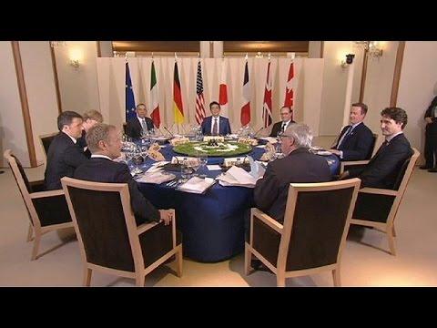 G7 Zirvesi'nde Rusya, Brexit Ve Küresel Ekonomi Masaya Yatırıldı