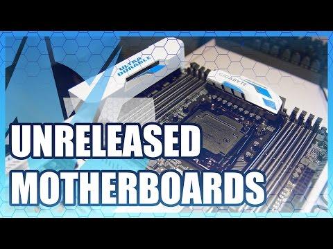 Unreleased Gigabyte Motherboards - Z170X & X99 BW-E