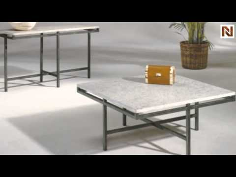 East Park Square Cocktail Table T By Hammary Furniture - East park coffee table