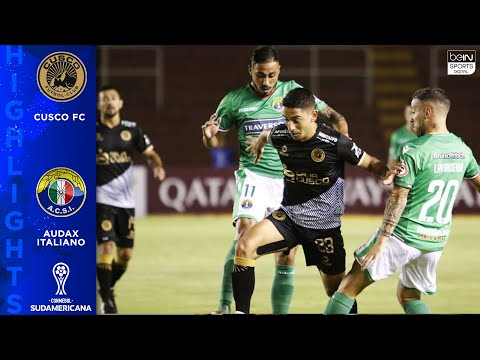 Cusco FC 2 - 0 Audax Italiano - HIGHLIGHTS & GOALS - 2/13/2020