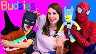 Budsies COLOR & DRAW Your Own Stuffed Animal Toy To Life Sandwich & Little Batman DisneyCarToys