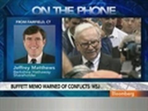 Matthews Says Buffett Likely to Expand Management Staff