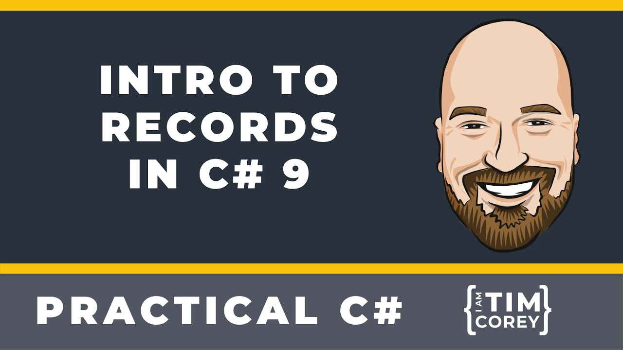 Intro to Records in C# 9 - How To Use Records And When To Use Them