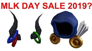 WILL THERE BE A ROBLOX MLK DAY SALE 2019