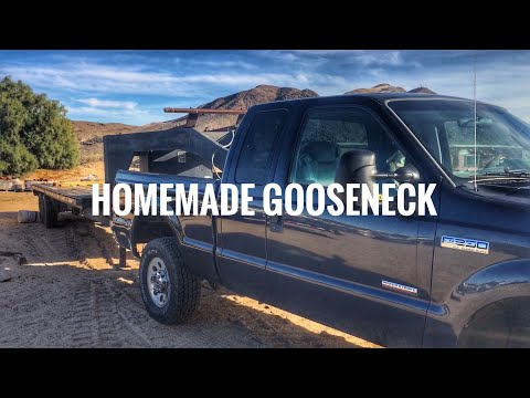 Homemade Gooseneck Hitch!