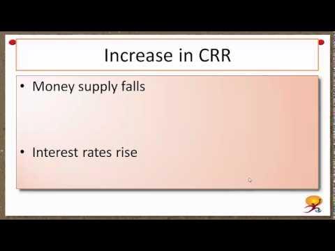 Cash Reserve Ratio