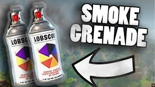 FORTNITE SMOKE GRENADE TIPS! How to use Smoke Grenades in Fortnite Battle Royale ( New Update )