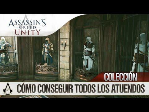 Assassin's Creed Unity | Todos los Atuendos / Trajes Desbloqueables | Cómo conseguirlos | All Outfit