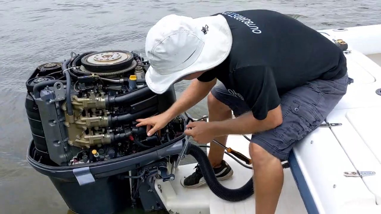 Yamaha Outboard Will Not Start, Bad Start Relay:  Checking Starter System Key Switch To Starter