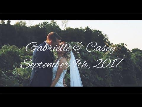 Gabrielle & Casey - Wedding @ Becker Farms | First Wedding | Canon 70d + Zhiyun Crane V2