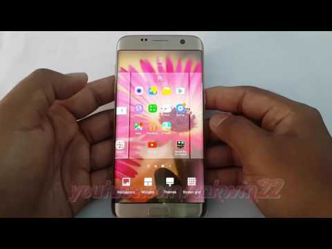 Samsung Galaxy S7 Edge : How to turn on Wallpaper motion effect (Android Marshmallow)