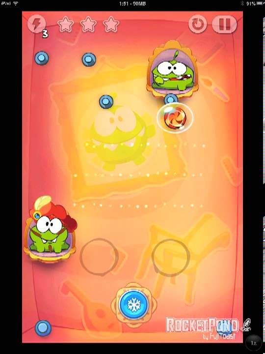 Cut The Rope Time Travel Walkthrough Renaissance
