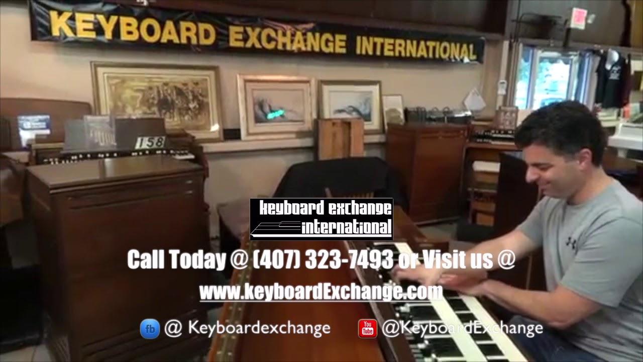 Keyboard Exchange International - Vintage Hammond Specialists