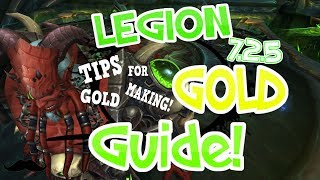 Legion -  Basic Tip Friday: Making Gold 10,000 to 20,000 Easy - 7.2.5