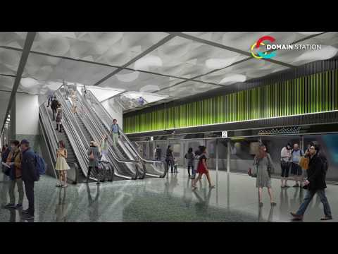 Metro Tunnel - New Station Concept Images