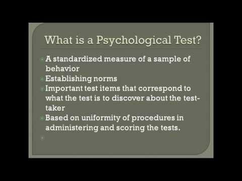 Psychological Tests Explained