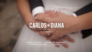 Diana y Carlos - Wedding Film Trailer // Cholula, Puebla.