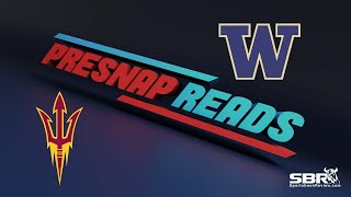 Arizona State vs Washington | Presnap Reads Clip | College Football Betting Tips
