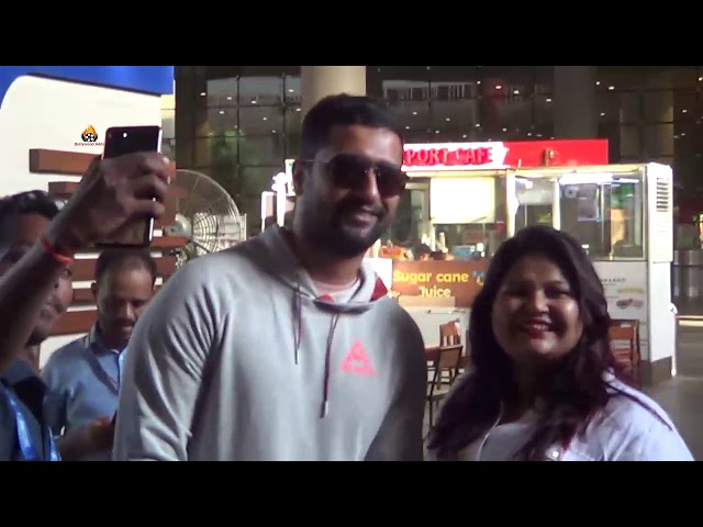Vicky Kaushal Spotted at Airport