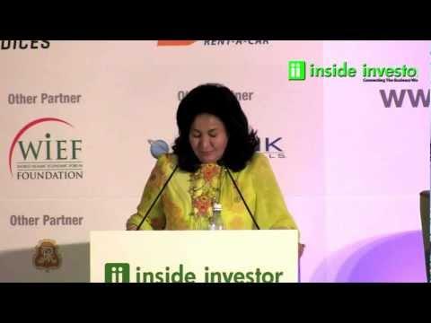 Datin Paduka Seri Rosmah Mansor, Keynote Address Powerladies, IIFA 2012