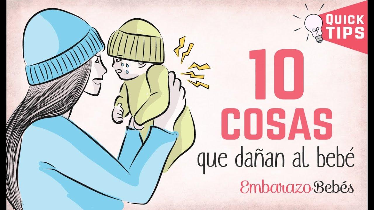 10 COSAS que JAMÁS DEBES HACERLE a un bebé 👎🏽🙅 ERRORES