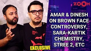Amar Kaushik & Dinesh Vijan on Bhumi's brown face controversy, Sara-Kartik in Aaj Kal, Stree 2, etc