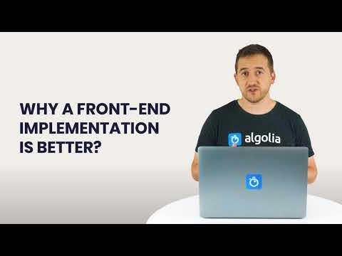 Algolia Build 101 - Search UI Implementation Introduction