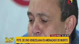 Presidente de ONG venezolana es amenazado de muerte