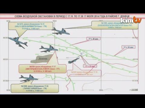 Ukraine fighter jet near M'sian plane before crash: Moscow