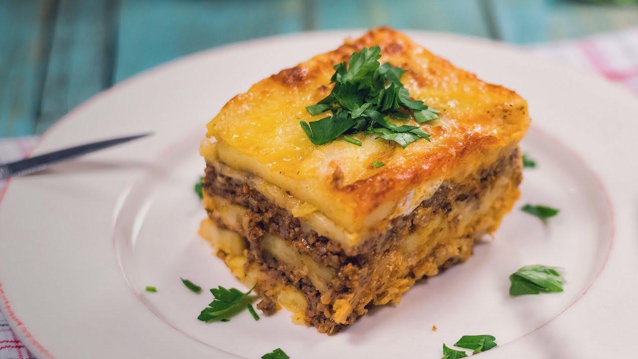 Reteta - Musaca cu carne tocata si cartofi | Bucataras TV