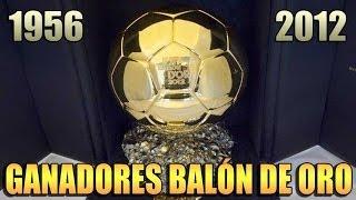 Ganadores del Balón de Oro (1956-2012)