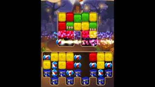 Toon Blast Level 698 - NO BOOSTERS 🐻🐺🐱 | SKILLGAMING ✔️