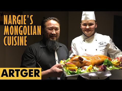 Nargie's Mongolian Cuisine: ROASTED SUCKLING PIG (Mongolian New Year Eve Dish) S1/E19