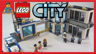 LEGO City Police Station Review set 60141