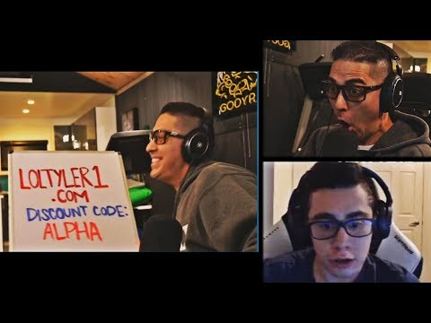 TRICK2G AND TYLER1 GO AT EACH OTHER DURING TCS | NIGHTBLUE'S WEB HISTORY | TFBLADE | LOL MOMENTS