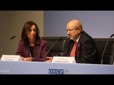 OSCE Secretary General Press conference