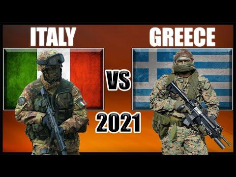 Italy vs Greece Military Power Comparison 2021